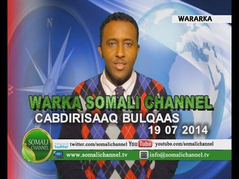 WARKA SOMALI CHANNEL SWEDEN CABDIRISAAQ BULQAAS 19 07 2014