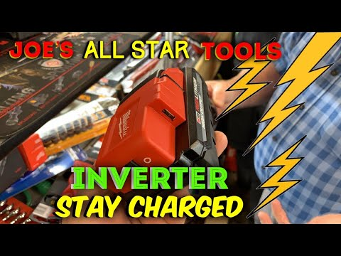 Joe's AllStar Tools: Milwaukee Inverter And Lights