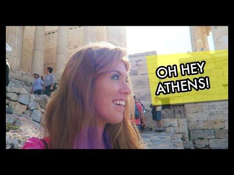 Exploring Athens, Greece