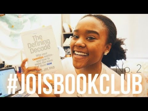 #JoisBookClub📚 Ep. 2 | The Defining Decade by Meg Jay Review