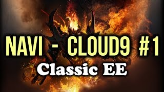 [EPIC] Navi vs Cloud9 Dota 2 Highlights TI5/The International 5 Group Stage Game 1