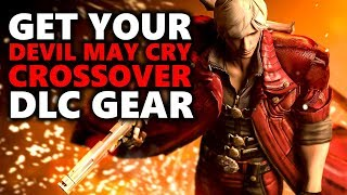 CODE: RED! - GET YOUR DEVIL MAY CRY DANTE ARMOR SET & SWORD - Monster Hunter World