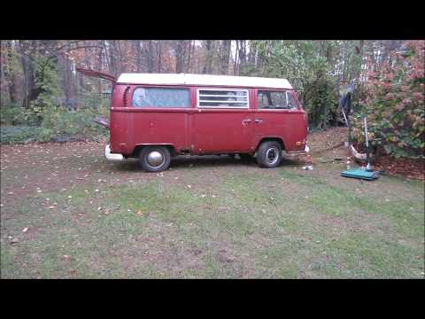 will it run/drive? rusty vw bus sitting 13 years