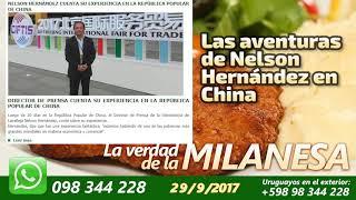 Las Aventuras de Nelson Hernández en China