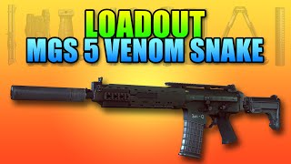 loadout ak 5c metal gear solid 5 venom snake   battlefield 4 carbine gameplay