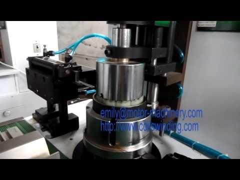 Multi poles  BLDC Stator needle Winding Machine WIND 1 TSM  Shanghai Wind Automation Equipment Co ,L
