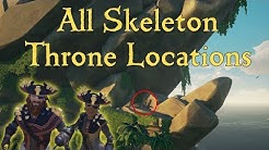 All Skeleton Throne Locations - Sea of Thieves