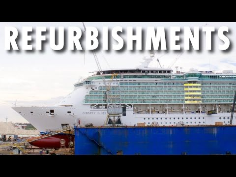 Six Ship Preview ~ Behind-the-Scenes: Half a Dozen Refurbishments ~ Royal Caribbean International