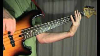 Bryan Adams -- Run To You -- Bass Cover