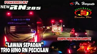 Download Video THE REAL BALAPAN!!!! 3 BUS SPRINT DI JALAN TOL!! HINO RN285 MEMANG SUOSSSSSS MP3 3GP MP4