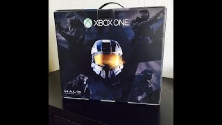 XBox One Unboxing!! Halo: The Master Chief Collection Bundle!!