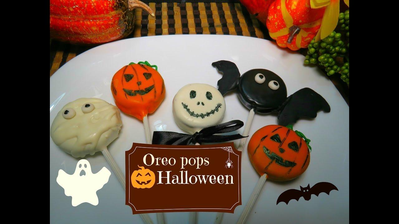 Oreo Pops De Halloween Facilisimas