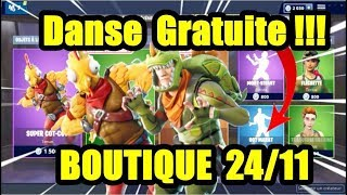 [ Fortnite ] shop 24 Nov (FREE Dance Hot Marat!)