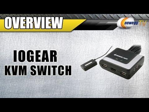 Newegg TV: Iogear 2-Port HD Cable KVM Switch