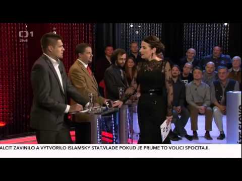 TV debate: Czech politicians refuse muslim immigation (eng sub)