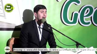 Quran gecəsi _ (Xanım Fatimeyi Zəhra (s.ə)-nin şəhadəti) 12032016