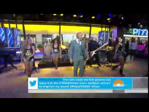 Pitbull_ Timber live in today show 2014