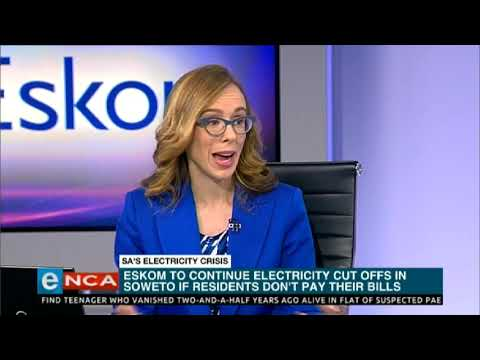 South Africa's Eskom Resumes Power Cuts as New CEO Starts