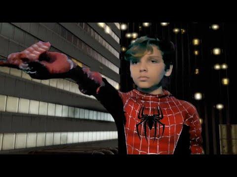 Remake of Spider-Man 2 Web Failure Scene (2004)
