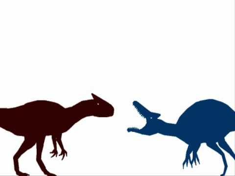 Allosaurus Vs T Rex