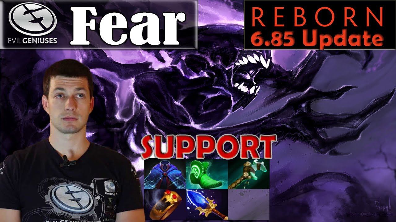 fear bane support midlane pro gameplay dota 2 mmr youtube