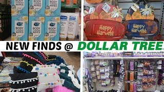 NEW FINDS @ DOLLAR TREE!!!! FALL/ HALLOWEEN DECOR & MORE