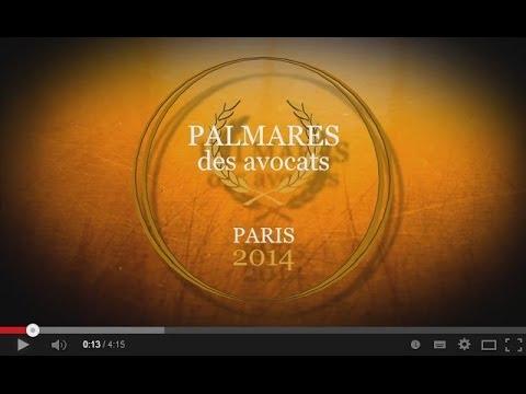 Palmarès des Avocats -  Paris 2014
