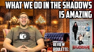 Review Roulette: What We Do In The Shadows is amazing!