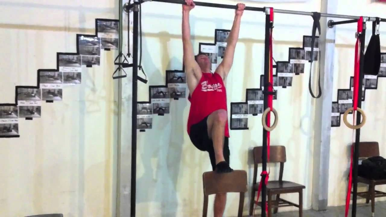 Chair Assisted Pull Up  YouTube