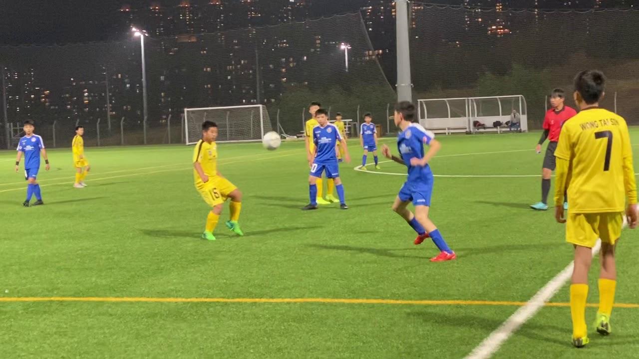 2020-01-19 賽馬會青少年足球聯賽 U14 丙組B 黃大仙 vs 觀塘 S1 - YouTube