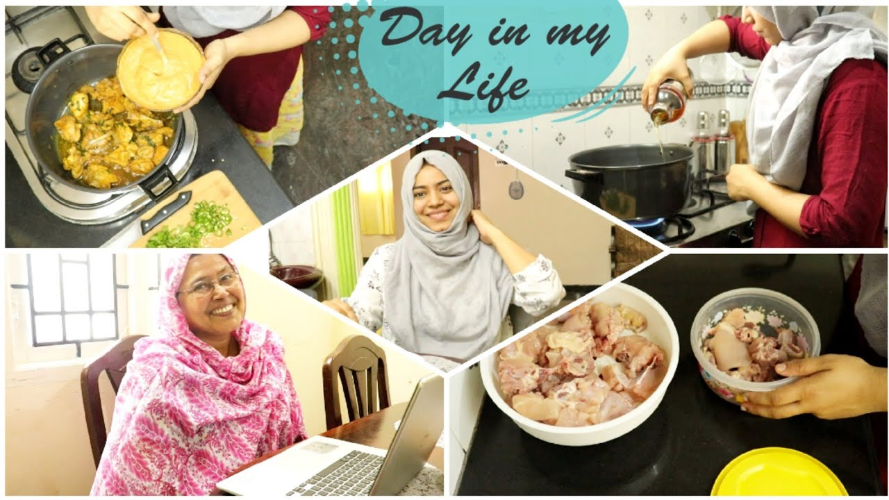 Day in My Life / Mom's Dawat Chicken Rice / Tamil Vlog / DIML