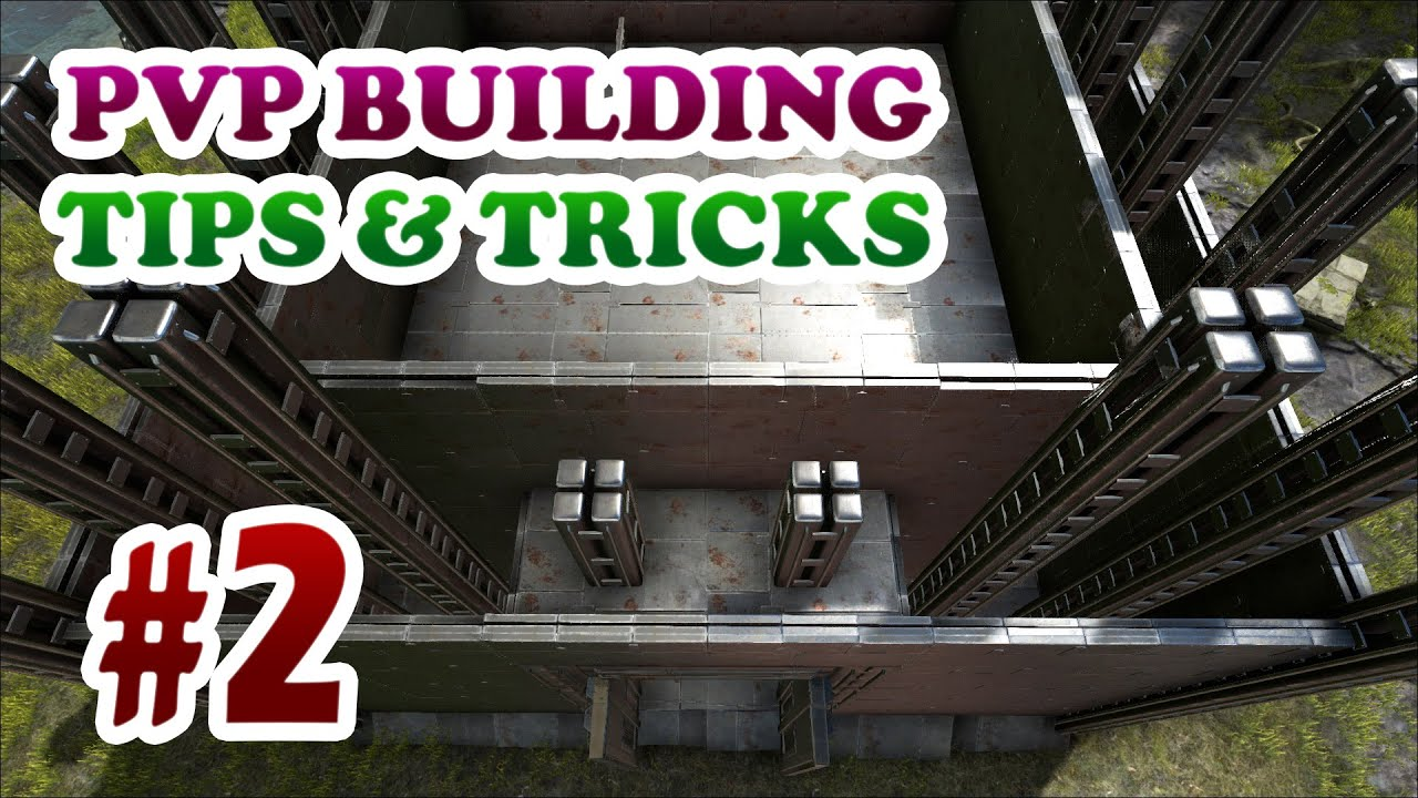 Ark advanced pvp building design tips tricks ep2 for Construction tips and tricks
