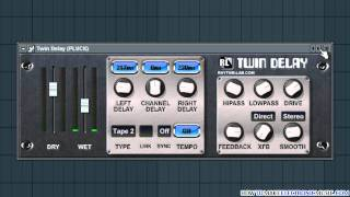 vuclip Twin Delay | Free VST Delay Effect For That Dub Sound