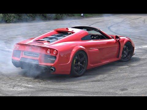 Noble M600 Speedster Twin Turbo V8 with Anti-Lag?!? – INSANE Pops & Bangs!