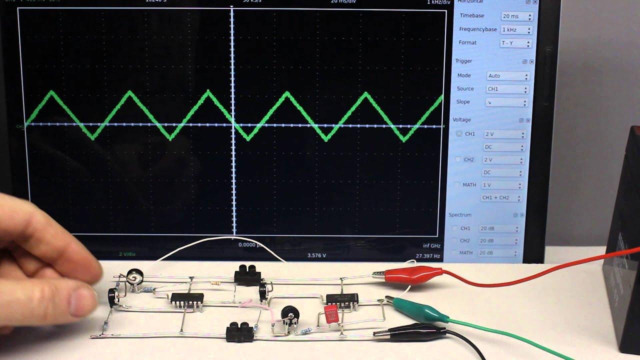 The Rc Integrator Circuit