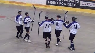 Amazing Goal - Brenden Ham (04/28/14) Ball Hockey Dangles Skills Drills Tricks