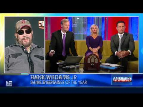 Hank Williams, Jr. Compares Obama to Hitler FULL INTERVIEW