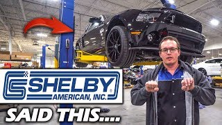 Here's Why SHELBY Will FIX My GT500 Super Snake... And NOT FORD