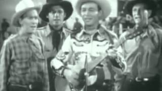 My Saddle Pals and I -- Roy Rogers and the Sons of the Pioneers rodeo performance