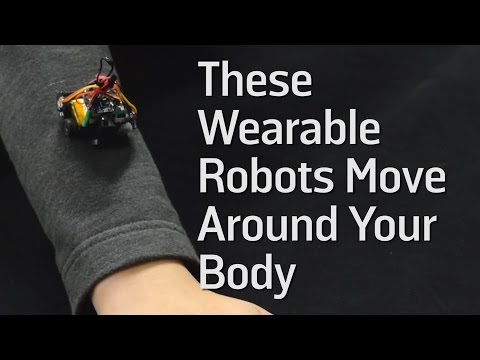 These Wearable Robots Move Around Your Body