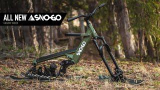 Introducing: SNO-GO Gnarmy Green