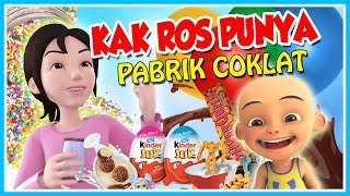 "ASIKK!!! KAK ROS HAVE A CHOCOLATE FACTORY!! ""GOOD FOR ME"""