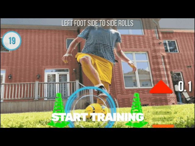 'DribbleUp' Smart Soccer Balls Track Spin and Trajectory | Smartphone Connected Soccer Balls