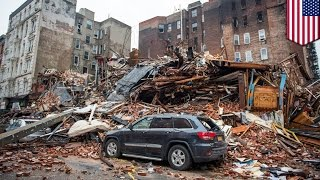 Deadly New York explosion and fire likely caused by illegal tapping into gas pipeline