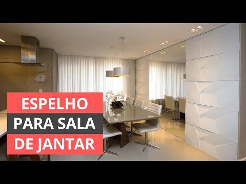 Espelho para sala de jantar - Saiba como escolher!
