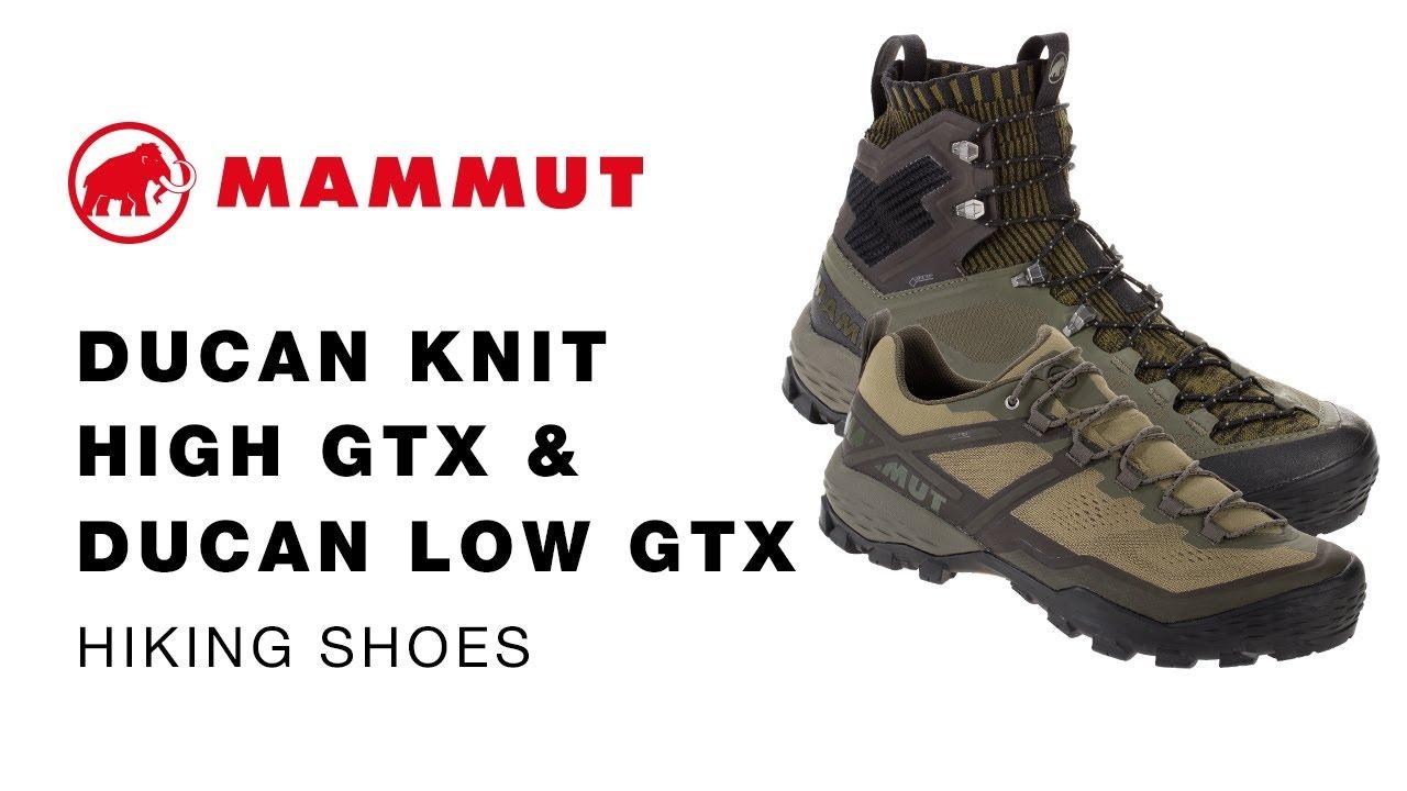 neue Season überlegene Materialien Rabatt zum Verkauf Mammut Ducan Knit High GTX & Ducan Knit Low GTX Hiking Shoes