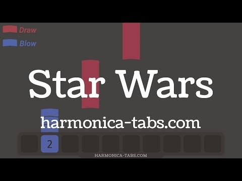 STAR WARS theme on harmonica