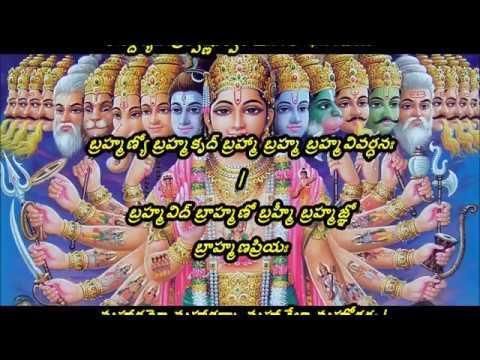 Vishnu Sahasranamam | in Telugu | MS Subba Lakshmi Full lyrics original