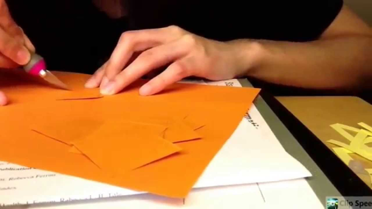 letter cutting happy birthday