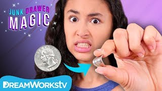 How to Bend a Quarter | JUNK DRAWER MAGIC